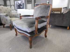 Bergere Chair designed by Wills Furniture