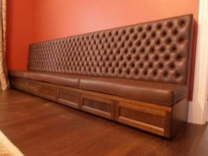 Customised banquette