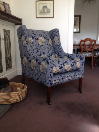 The Auburn Wing Chair by Wills Furniture
