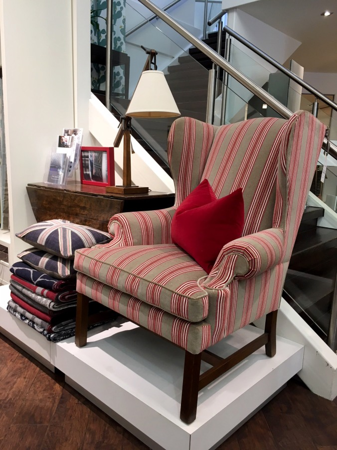 Columbia wing chair 2