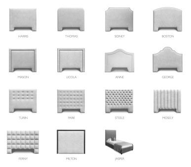 Upholstered Bedheads Range