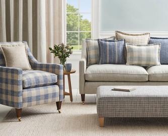 Georgian Sofa and Chair Image courtesy of Warwick Fabrics